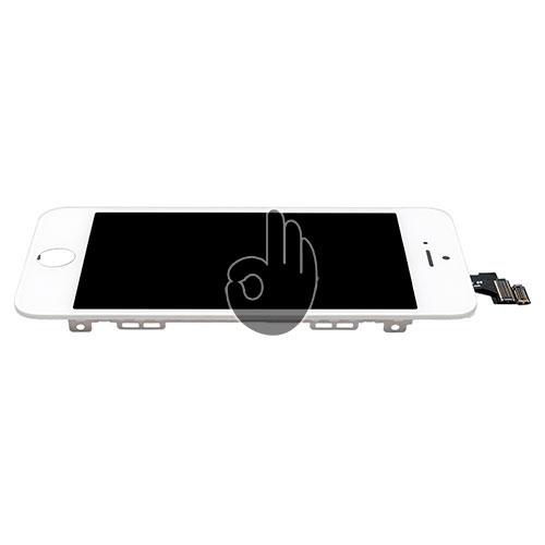 Экран на Айфон 5 белый (LCD экран, тачскрин, стекло, модуль в сборе)
