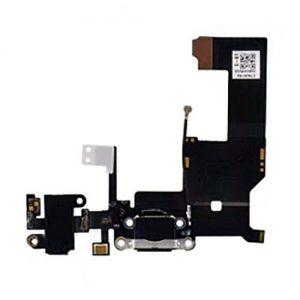 Iphone5 Charge connector with hands free and components black