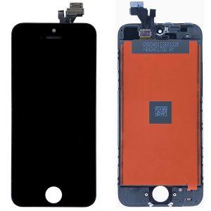 Оригинальный Дисплей iPhone 5 | Черный | LCD экран, тачскрин, стекло, модуль в сборе