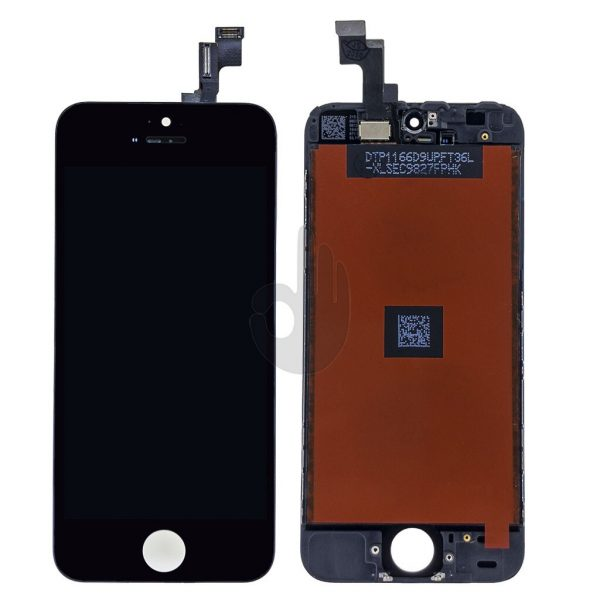 Оригинальный Дисплей iPhone 5S | Черный | LCD экран + тачскрин, модуль в сборе