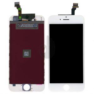 Оригинальный-дисплей-iPhone-6-Белый-LCD-экран,-тачскрин,-рамка
