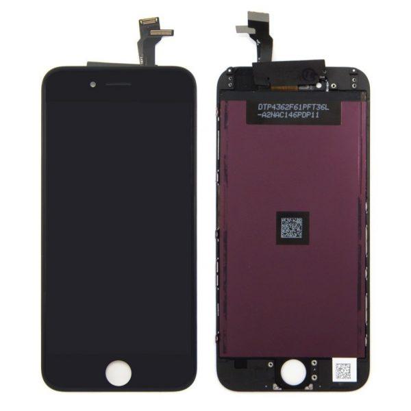 Оригинальный дисплей iPhone 6 черный (LCD экран, тачскрин, стекло в сборе)
