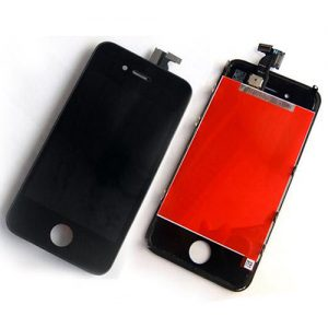 iPhone4S LCD with touch black with frame