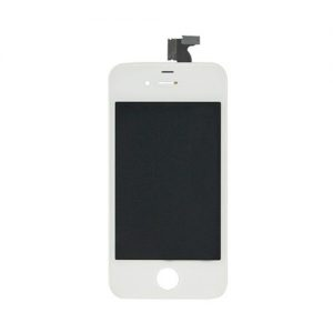 iPhone4S LCD with touch white with frame original