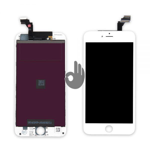 Оригинальный дисплей iPhone 6 Plus белый (LCD экран, тачскрин, стекло, модуль в сборе)