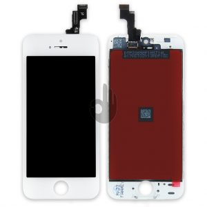 Дисплей iPhone 5S | Premium копия | Белый | LCD экран, тачскрин, стекло, модуль в сборе