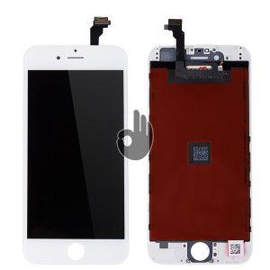 Дисплей на iPhone 6 белый (LCD экран, тачскрин, стекло в сборе)