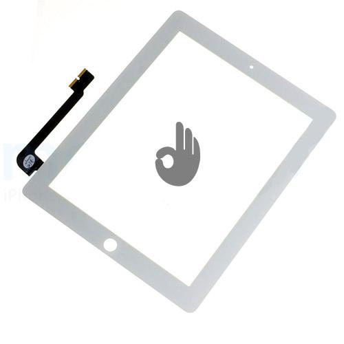 Сенсор на iPad 3 и iPad 4 белый