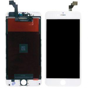 Дисплей iPhone 6 Plus | Premium копия | Белый | LCD экран, тачскрин, рамка, модуль в сборе
