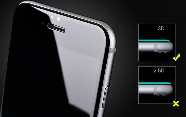 3D стекло на iphone 6