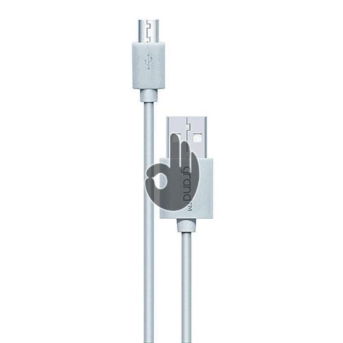 Купить дата-кабель GRAND USB-microUSB белый