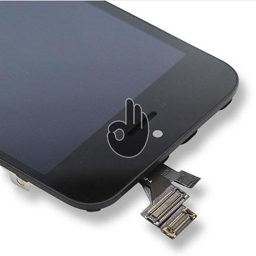Оригинальный дисплей iPhone 5 черный Foxconn