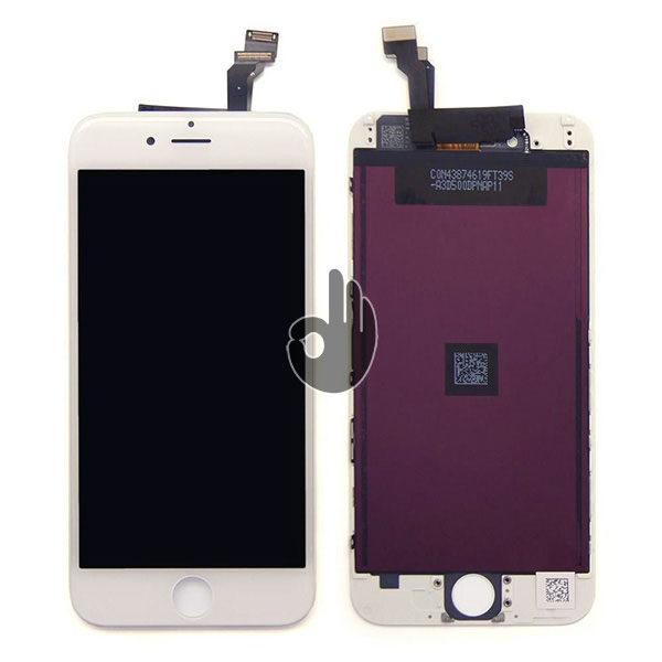 Оригинальный дисплей iPhone 6 белый Foxconn (LCD экран, тачскрин, стекло в сборе)