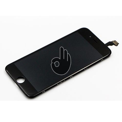 Экран iPhone 6 черный (LCD экран, тачскрин, стекло, модуль в сборе)
