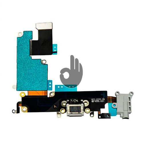 Оригинальный разъем зарядки/аудио (3,5 мм) iPhone 6 Plus серый