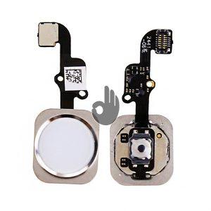 Оригинальная кнопка Home (кнопка меню, назад) iPhone 6 Plus белая