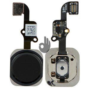 Оригинальная кнопка Home (кнопка меню, назад) iPhone 6 Plus черная