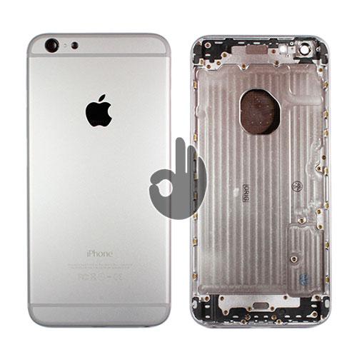 Корпус для iPhone 6 Plus серебристый (Silver)