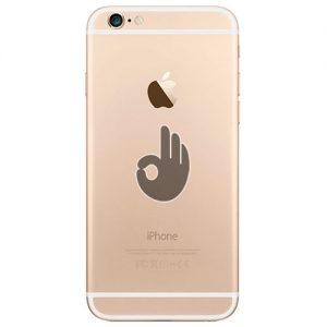 Корпус iPhone 6 Plus золотой (gold)