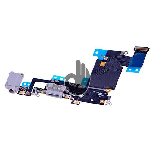 Оригинальный порт зарядки и синхронизации со шлейфом iPhone 6S Plus серый