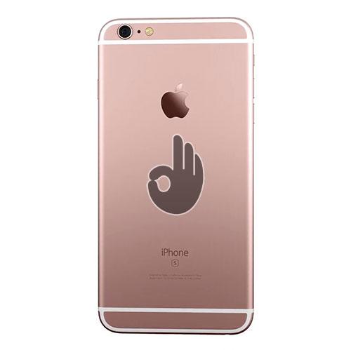 Корпус для iPhone 6S Plus розовое золото (Rose Gold)