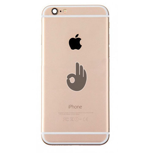 Корпус iPhone 6S Plus золотистый(Gold)