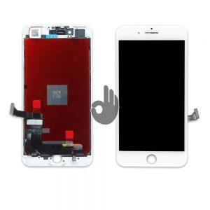 Дисплей iPhone 7 Plus белый (LCD экран, тачскрин, стекло, модуль в сборе)