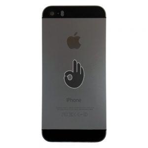 Корпус iPhone 5S золотистый (Space-grey)