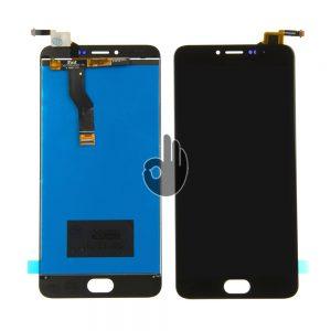 Оригинальный Дисплей Meizu M3 Note (L681Н) черный (LCD экран, тачскрин, стекло, модуль в сборе)