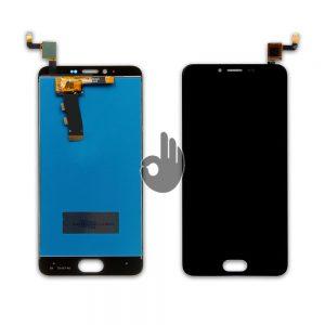 Оригинальный дисплей Meizu M5/M5 mini черный (LCD экран, тачскрин, модуль в сборе)