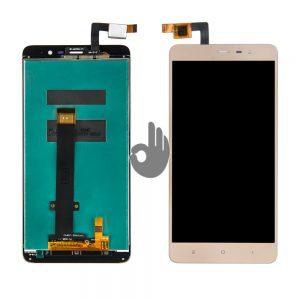 Оригинальный дисплей Xiaomi Redmi Note 3, Redmi Note 3 Pro Gold |147*73 mm | LCD экран, тачскрин, сенсор, модуль в сборе
