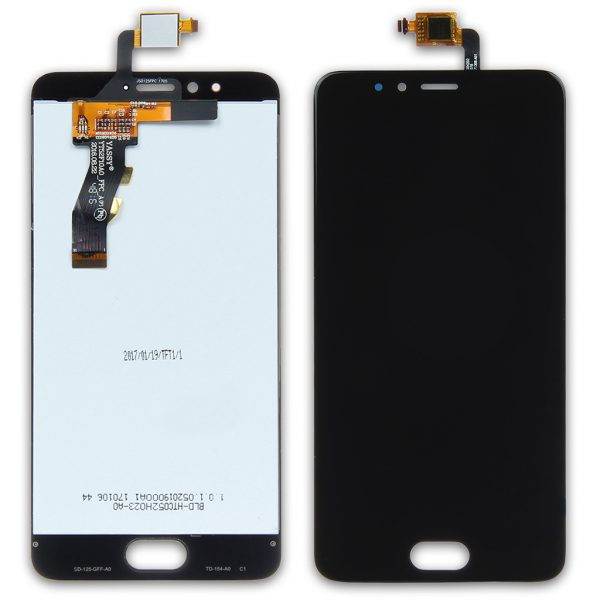 Дисплей Meizu M5s, M5s mini | Оригинал | M612 | Черный | LCD экран, тачскрин, модуль в сборе