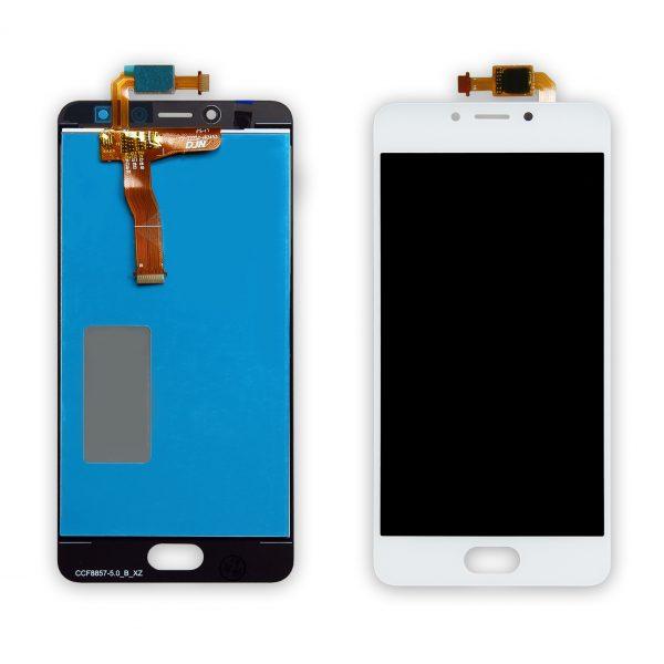 Дисплей Meizu M5c | Оригинал | M710h | Белый | LCD экран, тачскрин, стекло, модуль в сборе