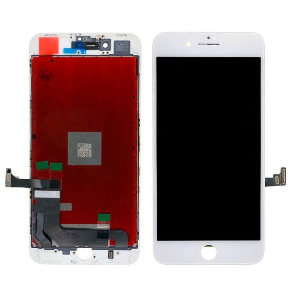 Оригинальный Дисплей iPhone 8 Plus   Белый   LCD экран, тачскрин, модуль в сборе