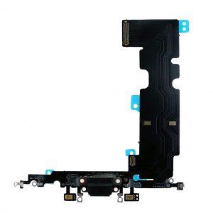 Шлейф iPhone 8 Plus | Оригинал | Черный | разъема зарядки, синхронизации, нижних микрофонов