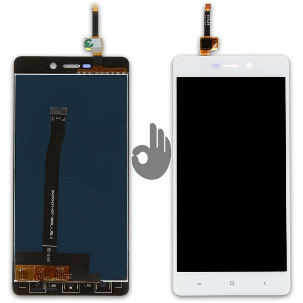 Оригинальный дисплей Xiaomi Redmi 3, Redmi 3S, Redmi 3X, Redmi 3S Prime | Белый | LCD экран, тачскрин, модуль в сборе