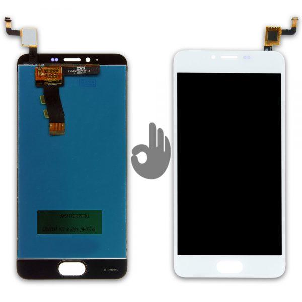 Оригинальный дисплей Meizu M5/M5 mini | Белый | LCD экран, тачскрин, модуль в сборе