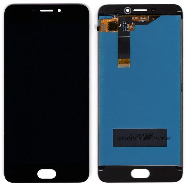 Дисплей Meizu M6 M711, M711H, M711M, M711Q с черным тачскрином