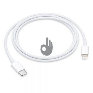Кабель USB-C/Lightning (1м)