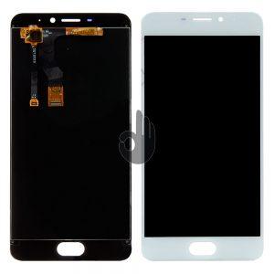 Дисплей Meizu M5 Note | Оригинал | M621 | Белый | LCD экран, тачскрин, модуль в сборе