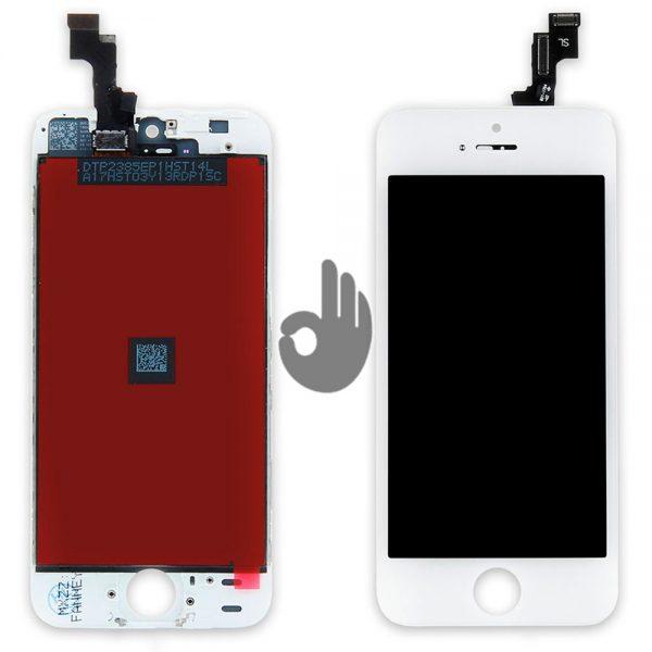 Дисплей iPhone SE | Белый | LCD экран, тачскрин, стекло, модуль в сборе