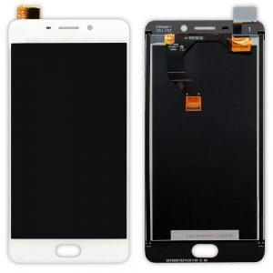 Оригинальный Дисплей MEIZU M6 Note с белым тачскрином
