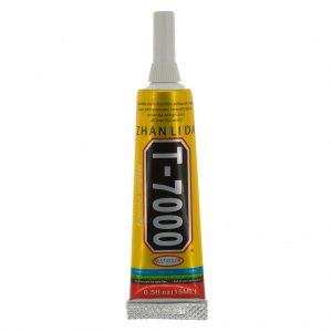 Клей силиконовый ZHANLIDA T-7000 | 15мл | Черный | в тюбике с дозатором