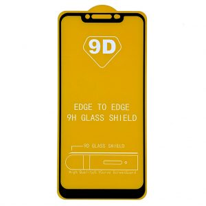 Защитное Стекло Xiaomi Redmi Note 6 Pro | Черное | 0.3 мм, с олеофобным покрытием