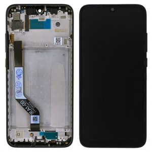 Дисплей Xiaomi Redmi Note 7 / Note 7 Pro | Оригинал | Черный | Экран + сенсор, модуль в сборе с рамкой