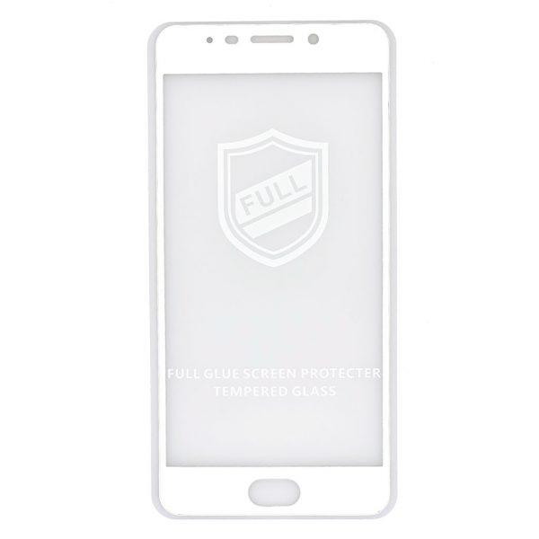 Защитное Стекло Meizu M6 Note | Белое | Premium Tempered Glass