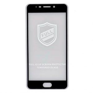 Защитное Стекло Meizu M6 Note | Черное | Premium Tempered Glass
