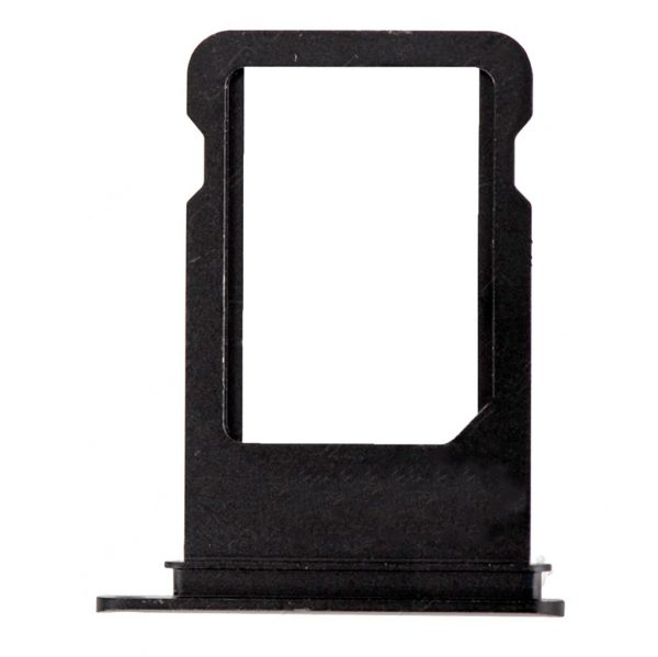 Держатель (лоток) Сим карты iPhone 7 / 7 Plus | Оригинал | Черный