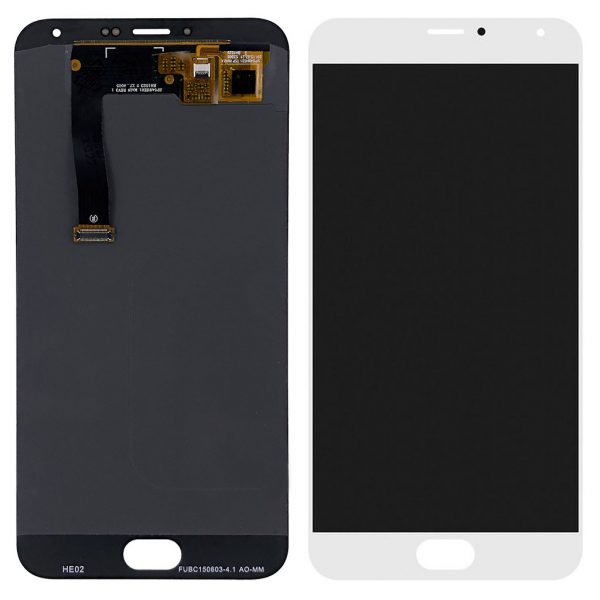 Дисплей Meizu MX5, MX5e оригинал белый