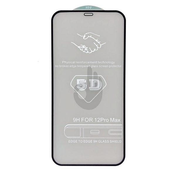Защитное 5D Стекло iPhone 12 Pro Max Premium Tempered Glass